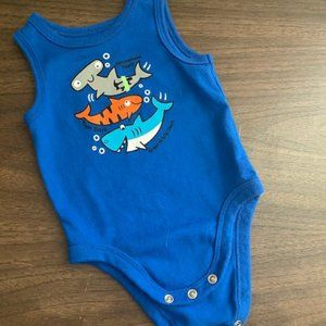 Garanimals Tank top onesie boy 0-3mo